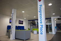 """Bristol Airport_reception area (photo courtesy of BBI) • <a style=""""font-size:0.8em;"""" href=""""http://www.flickr.com/photos/92760658@N08/15745979847/"""" target=""""_blank"""">View on Flickr</a>"""
