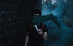 smoke (Filippo Cavallaro) Tags: blue summer green rock canon skin smoke best pale cc bomb etna tumblr
