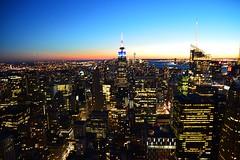 Top of the Rock (Six Sigma Man (2.300.000 views)) Tags: newyorkcity empirestatebuilding topoftherock