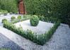 (deanmackayphoto) Tags: yard garden square landscape design losangeles gate topiary entrance diamond hedge drought shrub westhollywood gravel boxwood landscapedesign droughtresistant larisacode