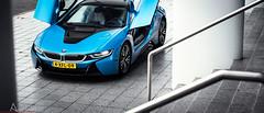 (Ansho.nl) Tags: blue white black holland detail netherlands dutch car electric by photoshoot review turbo bmw hybrid i8 d600 bijlmakers ansho anshonl autofotoshoot