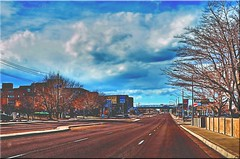The Flickr Lounge-Looking Down Gibson Blvd. (Jo-Cooler Than Usual Summer...Yay!!!!!) Tags: gps hdr pse13 topazglow theflickrloungeweeklythemeweek52traveldec2228