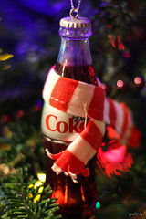 Things Go Better With Coke (gabi-h) Tags: christmas decorations festive bottle coke christmastree cocacola gabih