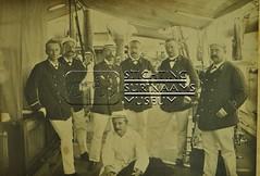 Groepsportret van scheepsbemanning