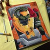 Halo Painting: Jorge (bricker2201) Tags: painting team paint awesome halo brush jorge reach spartan noble