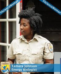 Tamara Johnson, #ScienceWoman