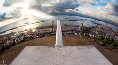 Protecting Gibraltar (Aaron Baglietto) Tags: sun rock canon landscape tank upper 5d gibraltar markiii aaronbaglietto