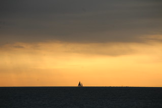 Sailboat and the sunset