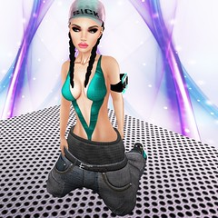Skate Girl (Wredziaa & Fabian50000pl) Tags: fashion female is mesh free style dirty clothes jeans secondlife pelle saggypants leforme ncparis bffashion insomniastore
