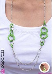 Glimpse of Malibu Green Necklace K1 P2810-5