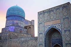 Bibi Khanum Mosque (Rosmarie Wirz) Tags: islam religion uzbekistan samarkand arhcitecture bibikhanummosque