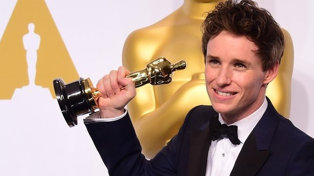 Eddie Redmayne wins for Oscars 2015 Best Actor