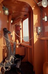 Anchor (dtanist) Tags: new york city nyc newyorkcity ny newyork film window ferry analog island harbor kodak manhattan si rangefinder olympus chain sp anchor 100 35 zuiko staten ektar gzuiko 35sp 42mm