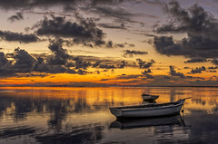 Calm sea ... (thanks for your visits & comments...) Tags: light sunset sea seascape reflection water clouds 35mm landscape boats boat seaside pentax indianocean mauritius fishingboats fishingboat crepuscule barque aftersunset ilemaurice panoramicphoto bankofclouds pentaxk5 ericmalaquin