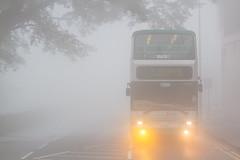 JJ2930 | 15 (TommyYeung) Tags: bus buses fog hongkong foggy thepeak dennis doubledecker trident dennistrident 3axle hongkongbus nwfb newworldfirstbus peakroad hongkongbuses flickrhongkong flickrhkma