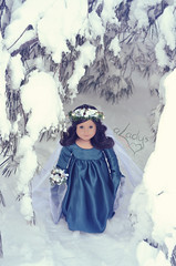 Winter's Queen (Lady Alec) Tags: winter snow doll queen ag americangirldoll