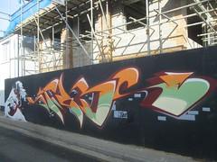AVK . VODKA (Brighton Rocks) Tags: graffiti brighton vodka avk