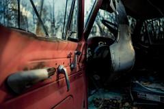 to.comfort (jonathancastellino) Tags: door leica ontario abandoned window car yard truck handle open decay m summicron vehicle wreck scrap derelict boneyard graveyeard