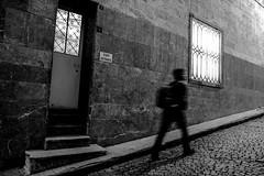 UP (㋡ Aziz) Tags: street new travel shadow bw blur window wall night dark photography mono blackwhite blurry lowlight action streetphotography move human fujifilm mirrorless