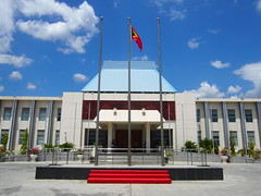 The parliament, Dili, East Timor!