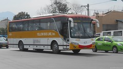 Yellow Bus Line A-129 (Monkey D. Luffy 2) Tags: bus yellow class line hino rk mabuhay ybl pbpa rk1jst
