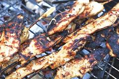 Chicken On The Grill (Shane Hebzynski) Tags: summer food chicken thailand bbq grill barbecue phuket coconutisland grilledchicken