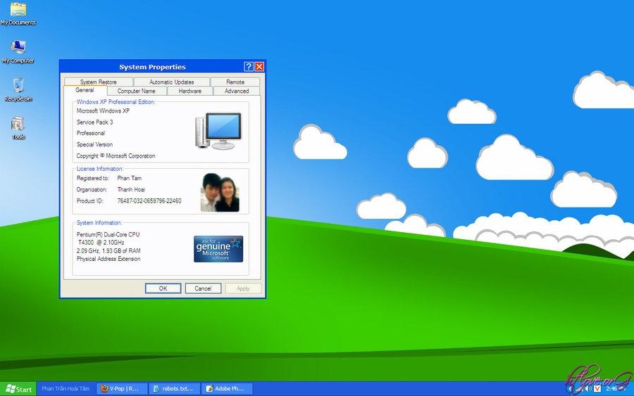 Theme đơn giản gọn nhẹ tinh tế dành cho Windows 7