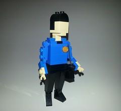 "Live long and prosper. (""Big Daddy"" Nelson) Tags: startrek lego spock legoland nimoy"