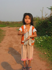 A Young Hill Tribe Girl