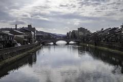 浅野川 (☆SANGANO☆) Tags: japan river 雲 空 散歩 kanazawa 水 金沢 寒い 川 歩く