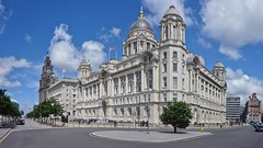 Liverpool - The Three Graces (fb81) Tags: uk greatbritain panorama building port liverpool three pier unitedkingdom head royal liver cunard graces