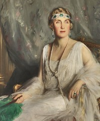 HM  Victoria Eugenia of Battenberg, wife of Alfonso XIII, King of Spain, 1924 // by Bernhard sterman (mike catalonian) Tags: uk 1920s 1924 xxcentury queenofspain victoriaeugeniaofbattenberg bernhardsterman