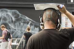 The Bigger Picture (CarolynEaton) Tags: streetart upfest shok1 spray bristol