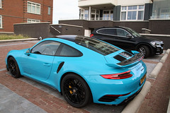 Porsche 991 Turbo S MkII (R_Simmerman Photography) Tags: porsche 991 turbo s mkii 2016 supercars sportcars hypercars hollandcars carsofholland blue cool noordwijk summer