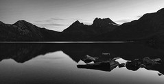 pictures in the mirror (keith midson) Tags: cradlemountain mountain dovelake tasmania reflection water lake sigma dp1m merrill landscape flickr