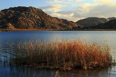 Lake Perris (The California Parks Company) Tags: travel tourism wildernessarea extremeterrain scenics tranquilscene environment nature outdoors california northamerica sunset mountain hill landscape reservoir lake watersedge water lakeperris ecosystem