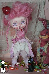 OOAK CUSTOM BLYTHE: Miss Barbra Papa! SOLD OUT