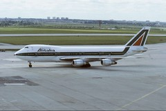 I-DEMF ~ 1986-06-24 @ YYZ (2) (CVT-wings) Tags: airplane aviation boeing747 alitalia yyz planespotting airplanepictures generalaviation airplanephotos torontopearsoninternationalairport cyyz aircraftpictures idemf aircraftpix cvtwings davelenton 24061986 aircraftslides