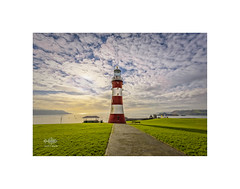 Smeaton's Tower (silver/halide) Tags: plymouth plymouthhoe d750 devon thehoe mayflower mayflowersteps smeaton smeatonstower lighthouse sunset clouds johnbaker architecture tower seafront pilgrims pilgrimfathers