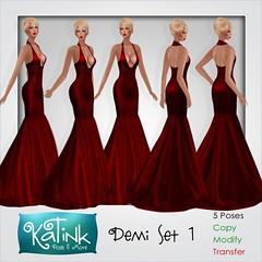 KaTink - Demi Set 1 (Marit (Owner of KaTink)) Tags: photography sl secondlife 60l katink 3dworlds my60lsecretsale salesinsl 60lsalesinsecondlife