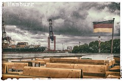 Hamburg (gerdpio) Tags: germany deutschland hamburg michel hafen alster hafenrundfahrt elbe hafencity hansestadt mven moinmoin hummelhummel elbphilharmonie containerschiffe fhrschiffe