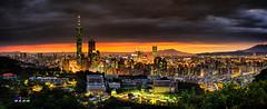 Taipei 101 Building Panorama (傑夫 or Jeff) Tags: