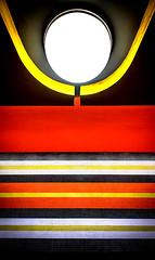 Underground Emotion (thewhitewolf72) Tags: konstanzerstrase berlin fliesen ubahn station metro linie7 linien streifen farben lampe rainergrmmler konstanz