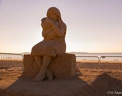 SSS_0232 (Sam 8899) Tags: sand sculpture beach sunrise morning light sky sea color