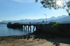 The pier at Tso Wo Hang (austinjosa) Tags: pier tsowohang vollage saikung district hongkong sunshine summer blue sky sea coast