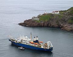 Piloting through the Harbor (ronboring) Tags: newfoundland saintjohns