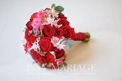 buchet mireasa cu trandafiri rosii si hortenisa rosie (IssaEvents) Tags: buchet mireasa cu trandafiri rosii si hortenisa rosie bucuresti valcea slatina issaevents issamariage