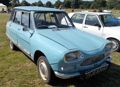 1971 CITROEN AMI 8 CLUB 602cc YJG836K (Midlands Vehicle Photographer.) Tags: 1971 citroen ami 8 club 602cc yjg836k