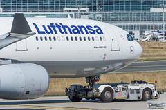 Lufthansa Airbus A330-343E D-AIKM (714750) (Thomas Becker) Tags: lufthansa dlh airbus a330343e a330343 a330300 a330 daikm staralliance msn 913 250208 fwwyj 190308 leos tld tpx500 towbarless tow tug pushback fraport flughafen airport aeroport aeropuerto aeroporto fra eddf frankfurt plane spotting aircraft airplane avion aeroplano aereo 飞机 vliegtuig aviao аэроплан samolot flugzeug germany deutschland hessen rheinmain nikon d7200 nikkor 80400g dx raw gps aviationphoto cthomasbecker 160817 taxiing noseshot geotagged geo:lat=50039523 geo:lon=8596970 aerotagged aero:airline=dlh aero:man=airbus aero:model=a330 aero:series=300 aero:special=e aero:tail=daikm aero:airport=eddf
