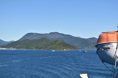 Interislander: leaving the South Island